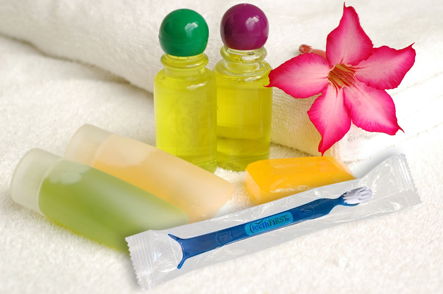 Oh'Pal Best Friend Forever to your gums & teeth included in hotel toiletries