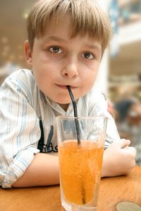 Sipping on sweet drinks causes your teeth to loose weight and you to gain weight