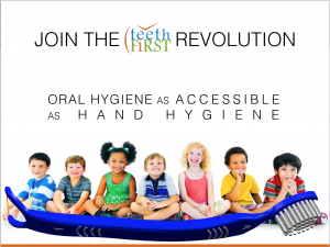 Let's Make Oral Hygiene as Accessible as Hand Hygiene to Stop Dental Diseases